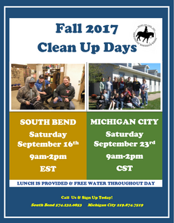 Clean Up Days Fall 2017 Poster
