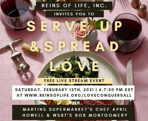 SERVE UP & SPREAD LOVE