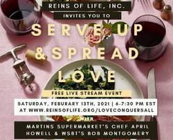 SERVE UP & SPREAD LOVE