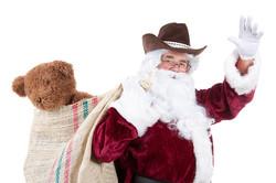 Read with Cowboy Santa!
