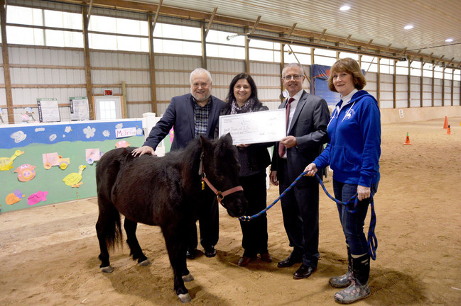 Reins of Life Awarded Community Fund Grant from Porter County Community Foundation