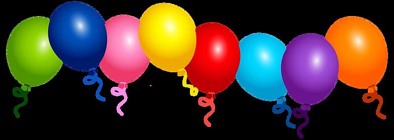 Balloon printable. Year celebration reins