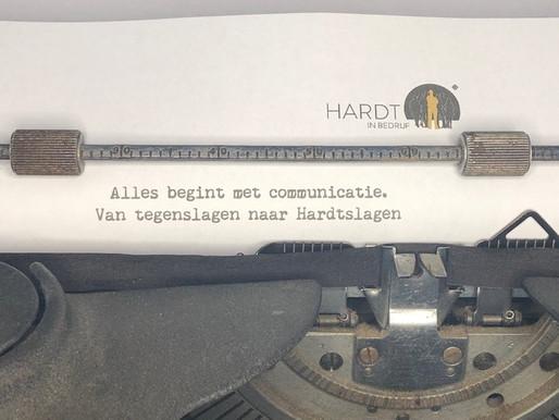Alles begint met communicatie...
