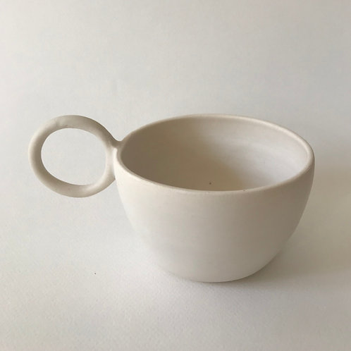 matcha teacup, burnt milk