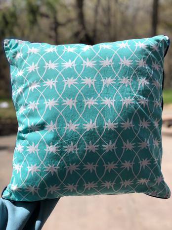 Pottery Barn Teen Cape Cod Palms Pillow Sham 18 x 18