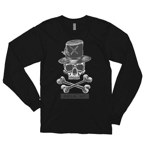 Mr Voodoo Bones Long Sleeve Tee