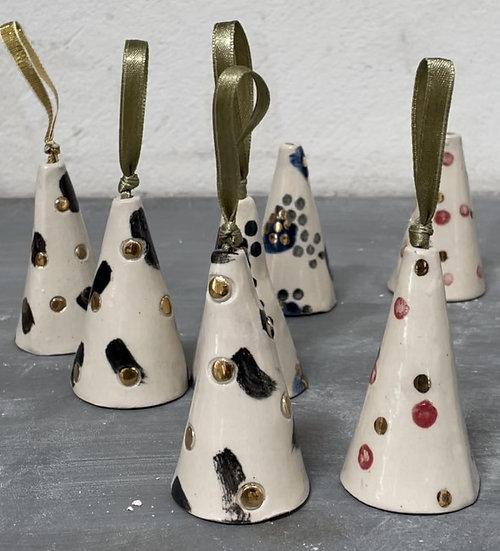 Christmas Ceramic Bell