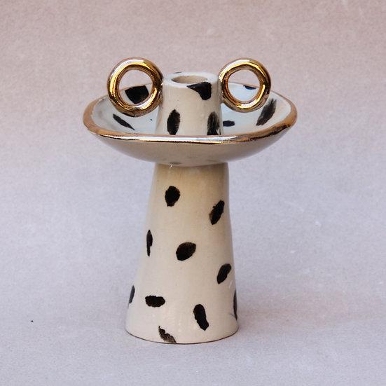 Polkadot Tall Candleholder