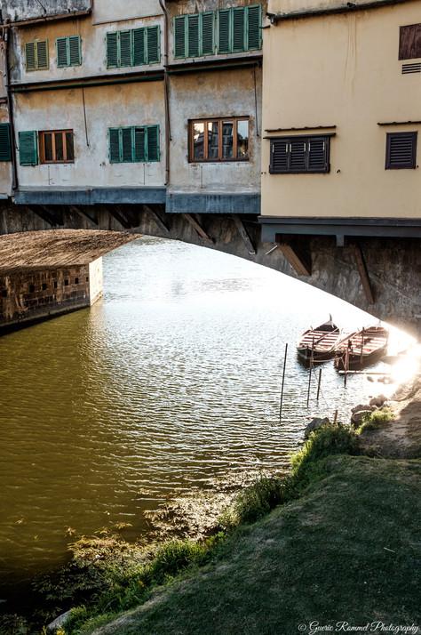 Under Florence's Bridge