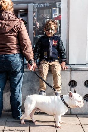 Hulk and his Dog