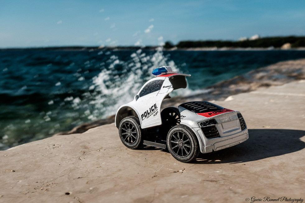 Police in the Surf