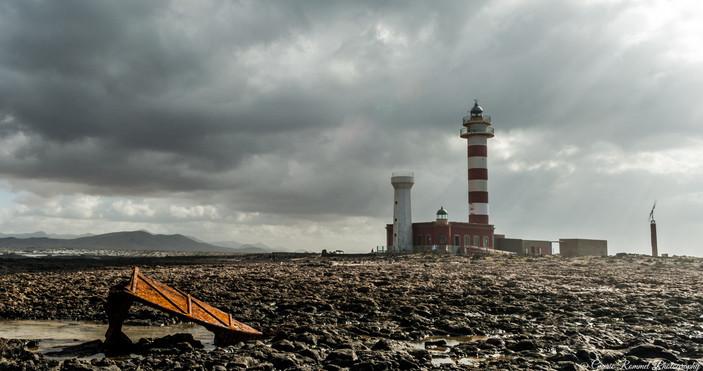 A volcanic Lighthouse