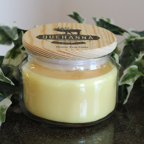 Honey Pear Cider Soy Candle