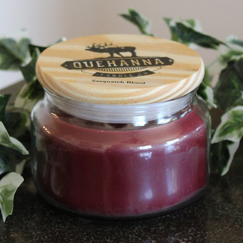 Sasquatch Blood Soy Candle