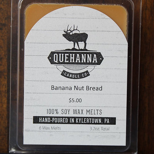 Banana Nutbread Soy Wax Melt