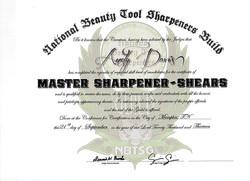 Master / Judge 2013 NBTSG