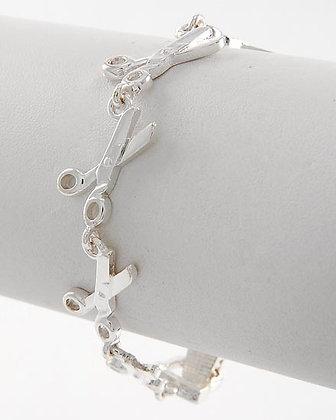 Shear/Scissor Chain Bracelet #508
