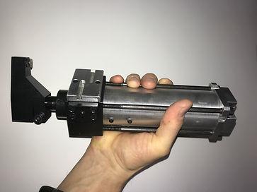 Pneumatic Locking Swing Arm Clamp