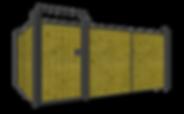 Residential Modular Fence ANGLED - Websi
