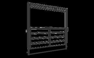 Lemsco Series High Pole Gate ANGLED - We