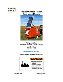 Power Grazer Trailer Manual (rev) 12 May