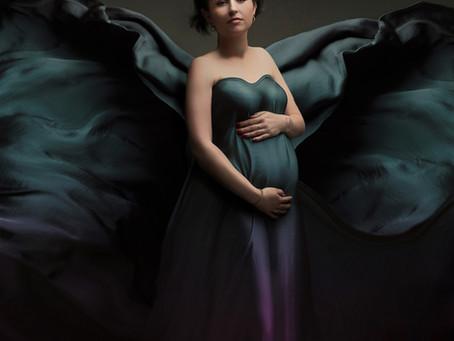 La séance grossesse d'Amandine Pélissard, son annonce avec votre photographe grossesse Essonne