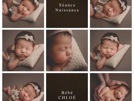 Séance Naissance : Bébé Chloé