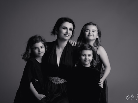 Amandine Pélissard, Familles Nombreuses TF1, et ses filles Léna, Alina & Louna