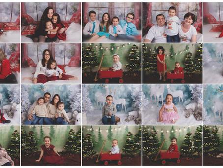 Noël 2018 : aperçus de vos mini séances à thème