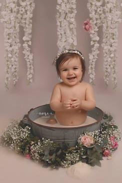 séance photo bain de lait bébé essonne.j