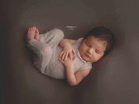 La séance photo de bébé Kacy
