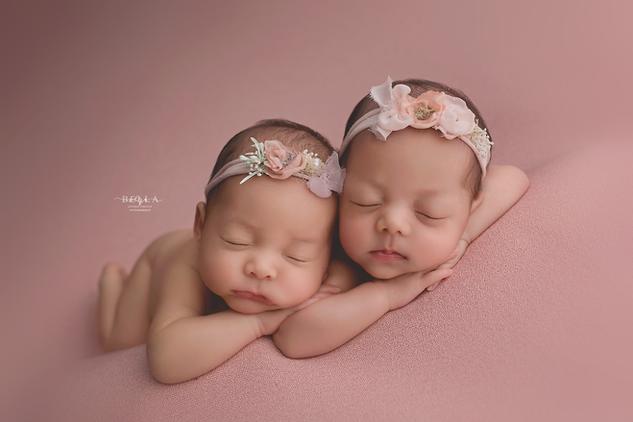 photographe nouveau-né jumeaux essonne