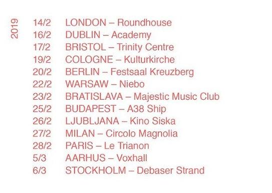 Neneh Cherry European Tour