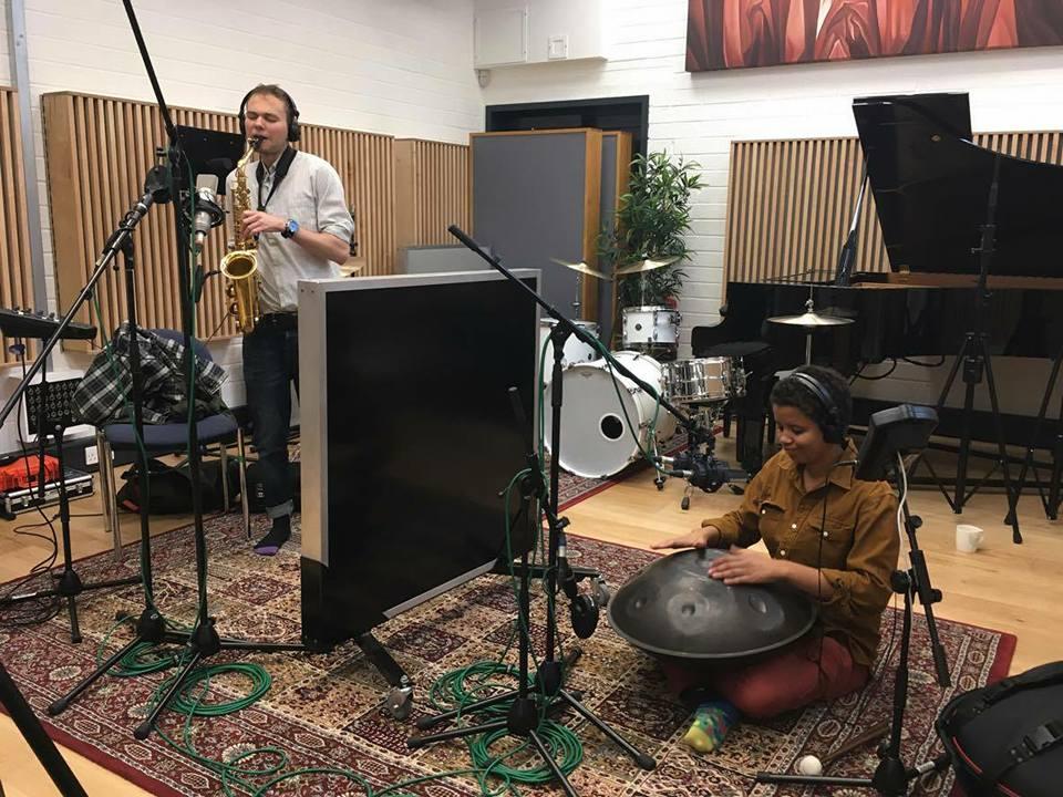 Recording Boubakiki's EP