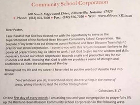 Atheists Warn Indiana Superintendent against Unconstitutional Christian Promotion