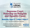 HLS Event: Supreme Court Roundup on Religion and Equality Cases