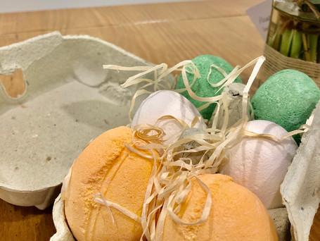 Bath Eggs & Jam Jar Posy