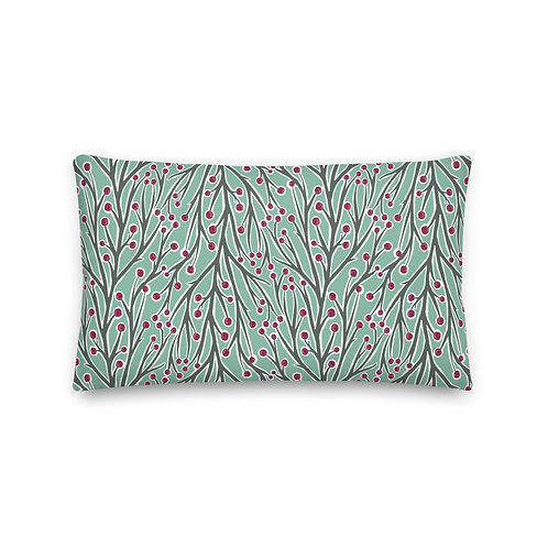 Berry and Branch Premium Pillow