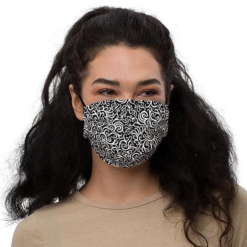 Seamless Swirl Face Mask