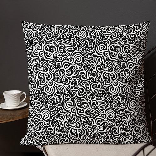 Seamless Swirl Premium Pillow
