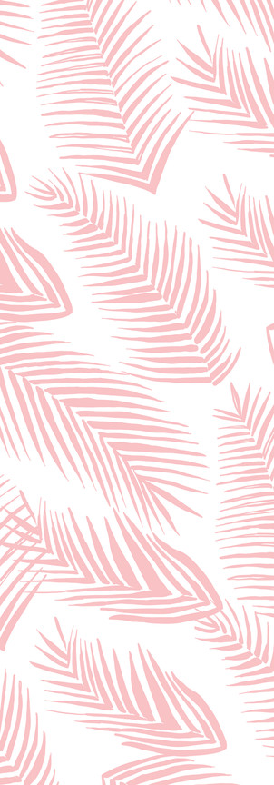 CD0271 - Pink Palm Ferns