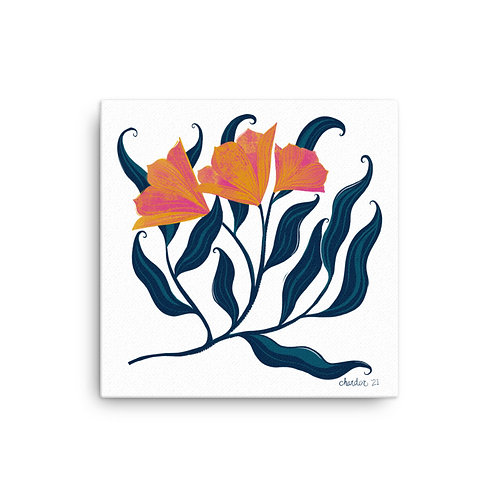Lily Poppy Print