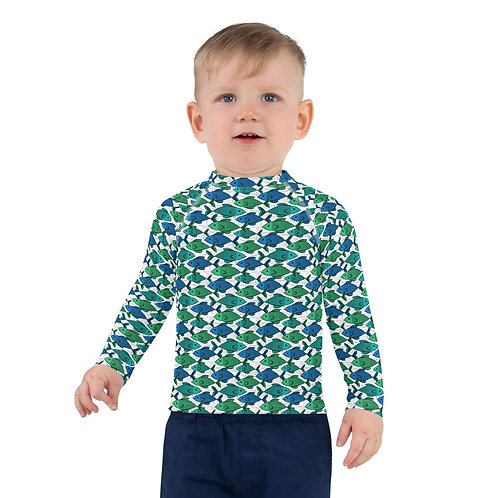 Kids Fishies Rash Guard