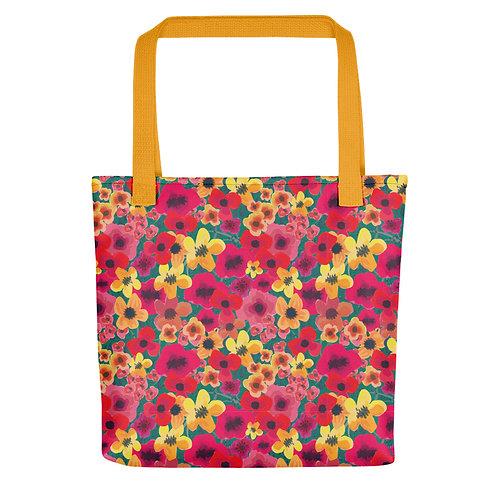 Feisty Flower Tote bag