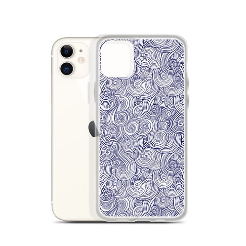 Sea Swirl iPhone Case