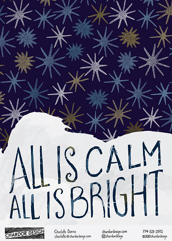 All is calm all is bright - Chardor Desi