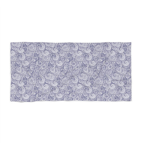 Sea Swirl Beach Towel