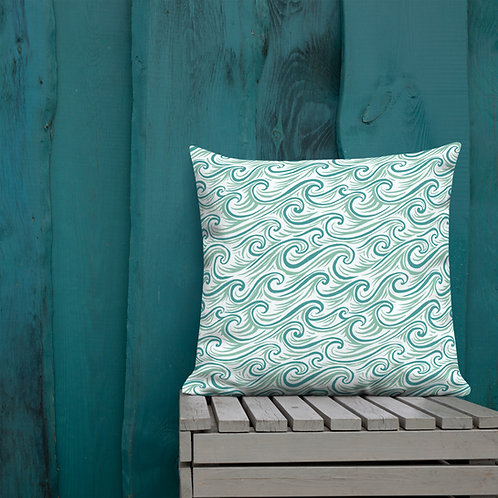 Whitecaps Premium Pillow