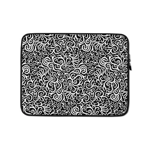 Seamless Swirls Laptop Sleeve