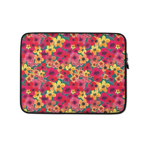 Feisty Flower Laptop Sleeve